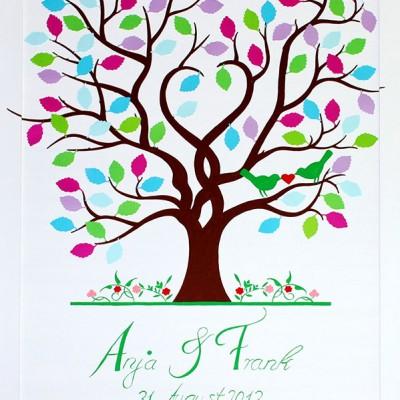 Hochzeitsbaum-Blätter